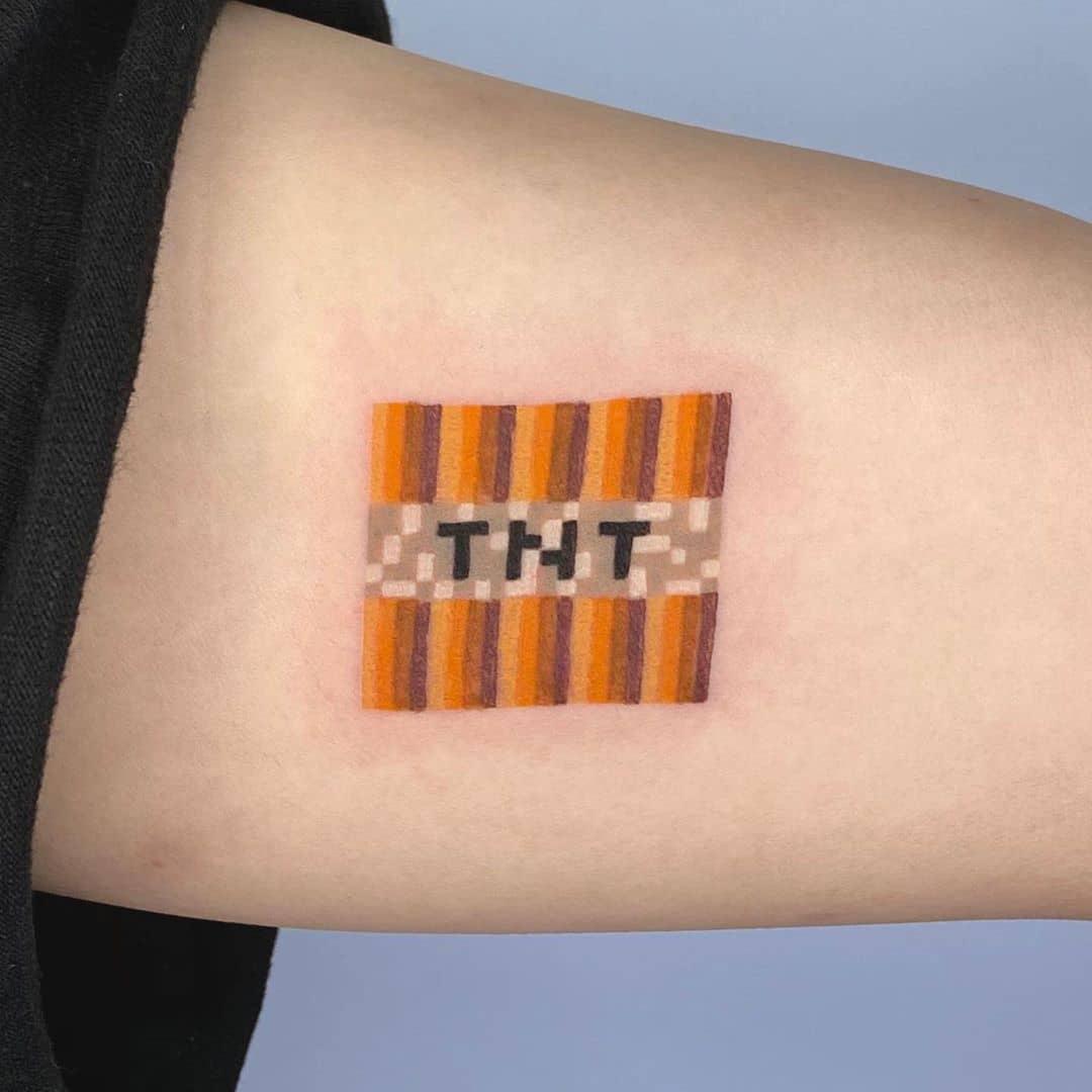 TNT tattoo by @88world.co.kr