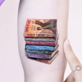 The Harry Potter collection tattoo by Edit Paints Tattoo