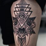 Composition by tattooist Arang Eleven