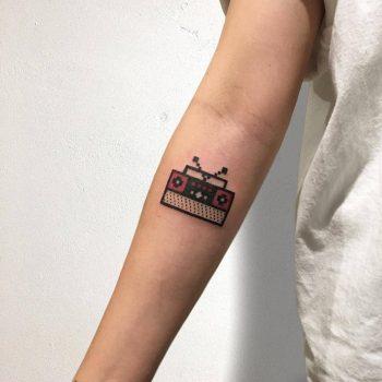 Radio Tattoo by @88world.co.kr