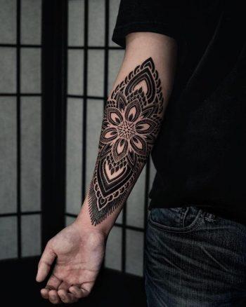 Cover Mandala by tattooist Arang Eleven