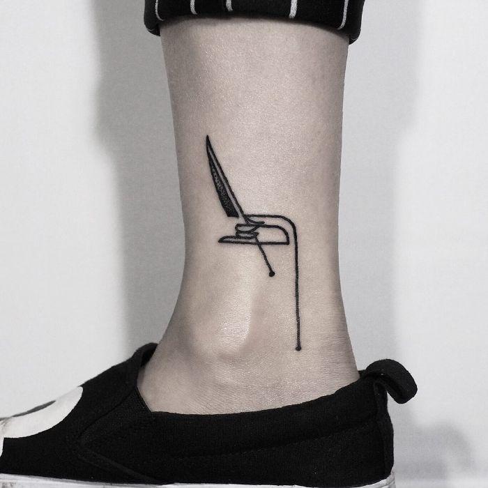 Chef's Hand Tattoo by tattooist Hen