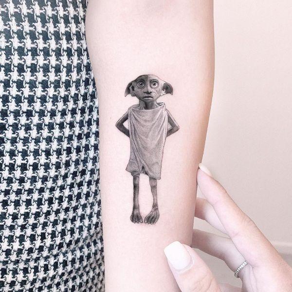 Dobby Tattoo by Edit Paints Tattoo