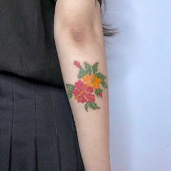 Floral Piece by @88world.co.kr