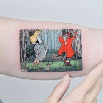 Sleeping Beauty by Edit Paints Tattoo