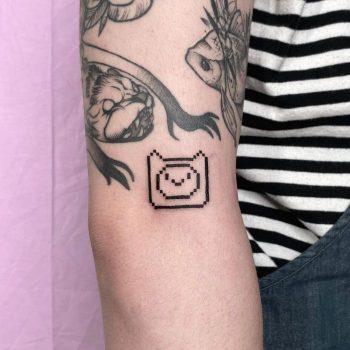 FINN tattoo by @88world.co.kr