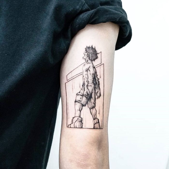 My Hero Academia Tattoo by tattooist Ian Wong
