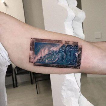 Zima Blue by tattooist Anna Zelenska